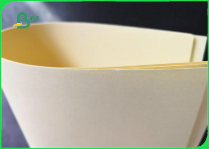 70GSM 80GSM 100GSM FSC Certified Uncoated Cream Offset Paper For Book Printing